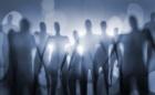Blurry image of nightmarish alien beings.