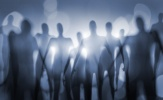 Blurry image of nightmarish alien beings.