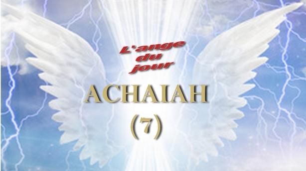 7 ACHAIAH