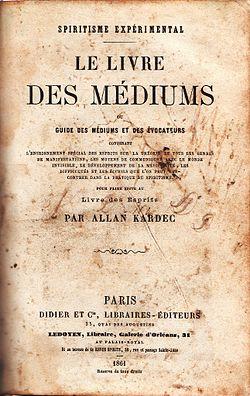 allan kardec -Le_Livre_des_Médiums